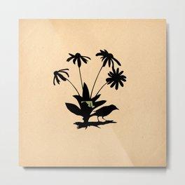 Maryland - State Papercut Print Metal Print