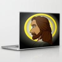 jesus Laptop & iPad Skins featuring Jesus by Jamerson
