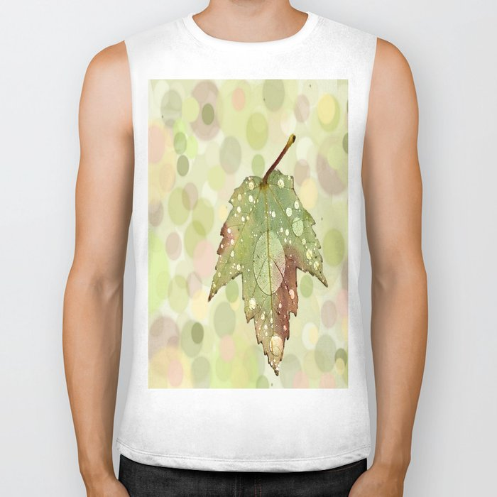 Just Leaf in Peace Biker Tank