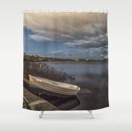 Calm Night Shower Curtain