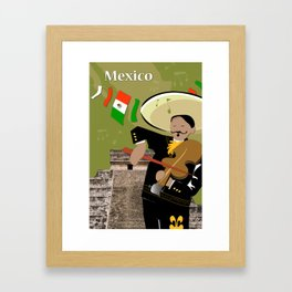 Hispanic Heritage Series - Mariachi Framed Art Print