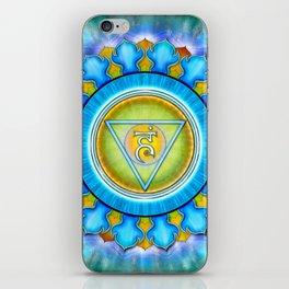 Vishuddha Chakra - Throat Chakra - Series III iPhone Skin