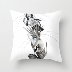 empathy monster Throw Pillow
