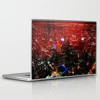 toronto Laptop & iPad Skins featuring Toronto by ache