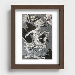 Hobo Wizard: Transcendence, Hobo Wizard series. Recessed Framed Print