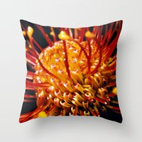 candy Throw Pillows featuring Candy by Stephen Linhart