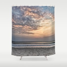 Sunrise over the Indian Ocean Shower Curtain