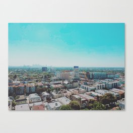 Wilshire & La Brea Canvas Print