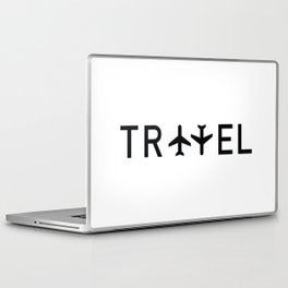 Travel and enjoy Laptop & iPad Skin