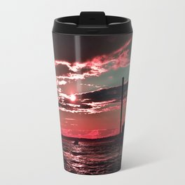 Pink Skies Travel Mug
