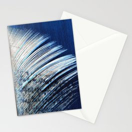 Feather | Feathers | Spiritual | White and Blue Feather | Nature Stationery Cards