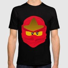 Ninja Face Kai MEDIUM Mens Fitted Tee Black