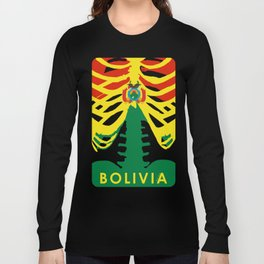 BOLIVIA X-RAYS BLK Long Sleeve T-shirt