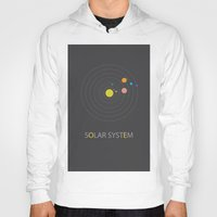 solar system Hoodies featuring Solar System by Loaded Light Photography