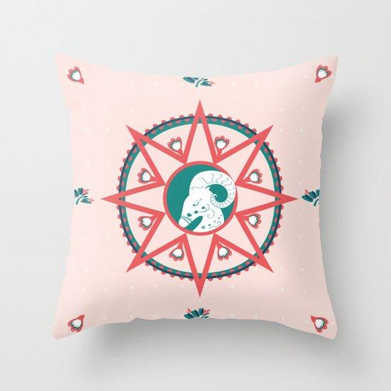 chèvre Throw Pillow