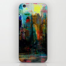 A moment in your city iPhone & iPod Skin