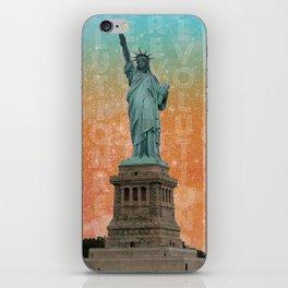 Revolutions - Statue of Liberty iPhone Skin