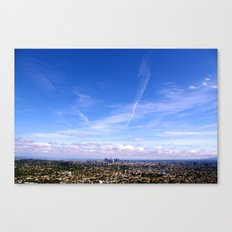 Downtown LA Canvas Print