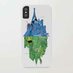 From Paris to New York and back iPhone X Slim Case