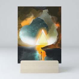 To Worlds Unknown Mini Art Print
