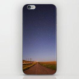 north of great falls, mt iPhone Skin