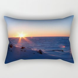 Sunrise on the Sound Rectangular Pillow
