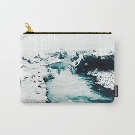 Turquoise River Carry-All Pouch