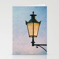 lantern Stationery Cards featuring lantern by Claudia Drossert