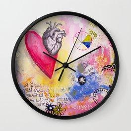 Proverbs 17:22 Wall Clock