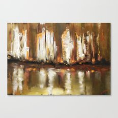 Brown City Canvas Print