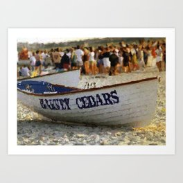Harvey Cedars, NJ Art Print