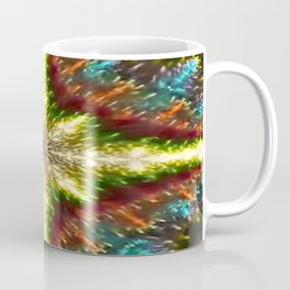 Echo with Geometric Landscape Coffee Mug