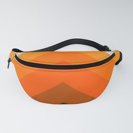 Golden Thick Angle Fanny Pack