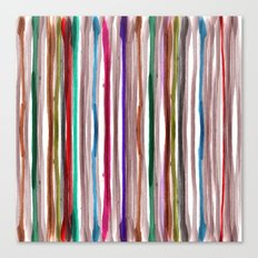 Rainbow Stripes 2 Canvas Print
