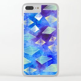 Crystal Hunt Clear iPhone Case