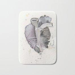 Heart of Marble Bath Mat