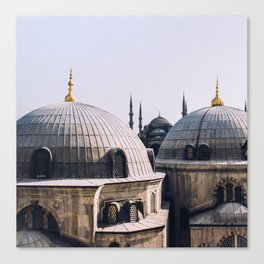 A view from Hagia Sophia Canvas Print