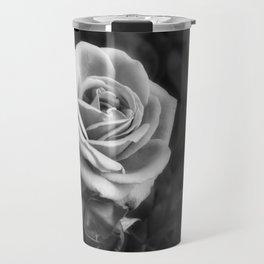 Pink Roses in Anzures 1 B&W Travel Mug