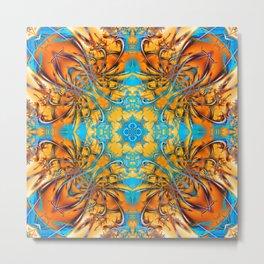 Mandala #4 Metal Print