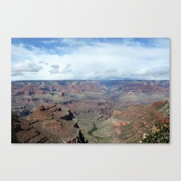 Majestic Grand Canyon Photo - Space to Breathe Canvas Print