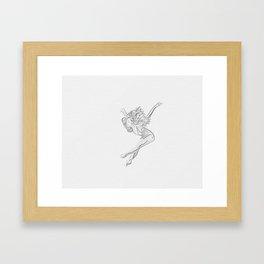 """Infinita belleza"" * 9 Framed Art Print"