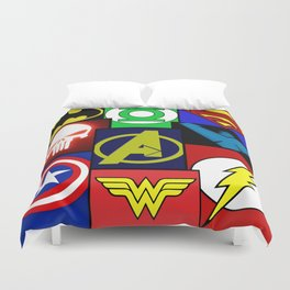 Logo Panel Duvet Cover