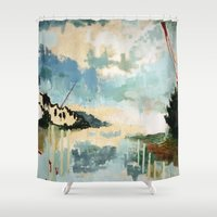 building Shower Curtains featuring Building by dorilovesnico