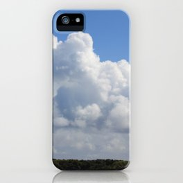 Just for the Clouds iPhone Case