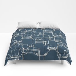 glass containers Comforters