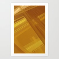 Yellow No.1 Art Print