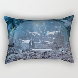 The Curse on Tomorrowscape Rectangular Pillow