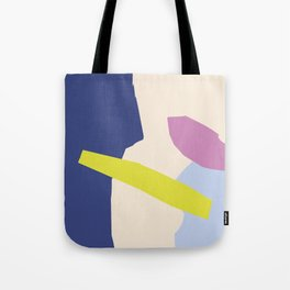 R14 Lime and Wine Tote Bag