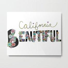 California Beautiful Metal Print