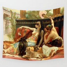 """Alexandre Cabanel """"Cleopatra Testing Poisons on Condemned Prisoners"""" Wall Tapestry"""